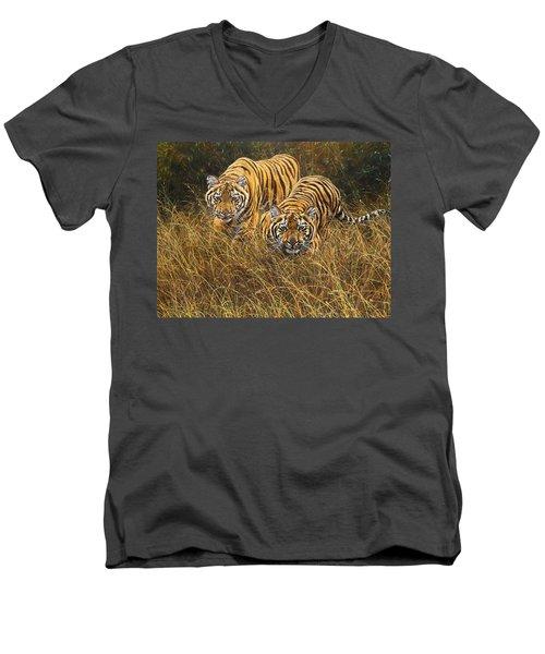 Intent Men's V-Neck T-Shirt