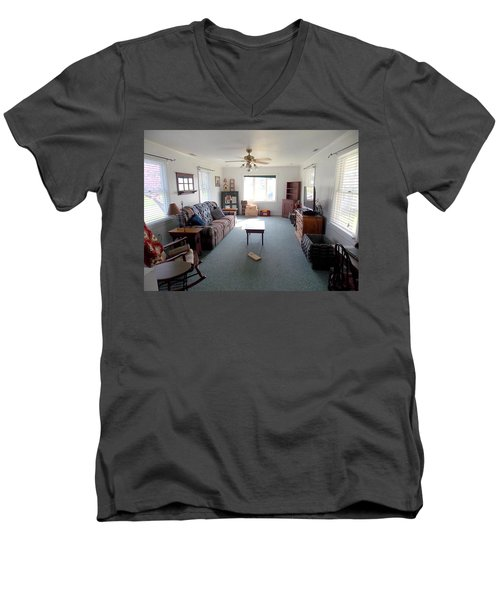Interior Living Room Men's V-Neck T-Shirt