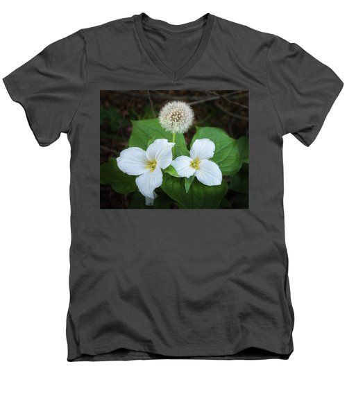 Men's V-Neck T-Shirt featuring the photograph Interloper by Bill Pevlor