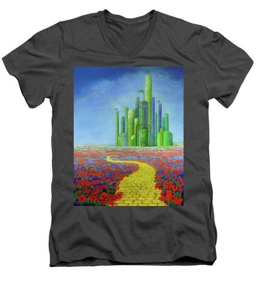 Interlude On The Journey Home Men's V-Neck T-Shirt
