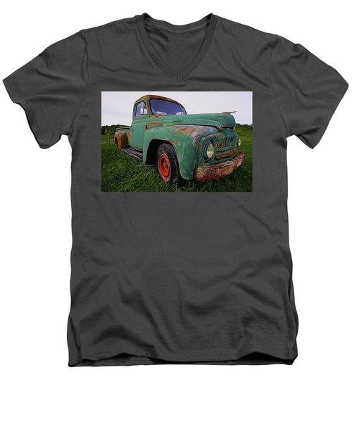 International Hauler Men's V-Neck T-Shirt