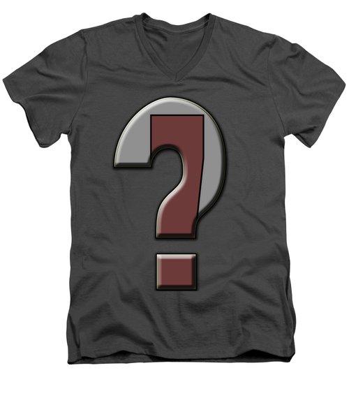 Interrobang 4 Men's V-Neck T-Shirt
