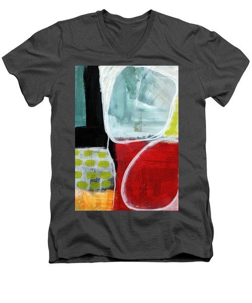 Intersection 37- Abstract Art Men's V-Neck T-Shirt