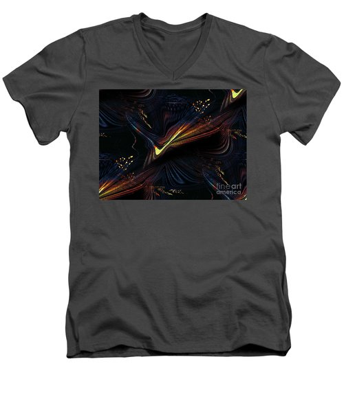 Meditative Vision Men's V-Neck T-Shirt