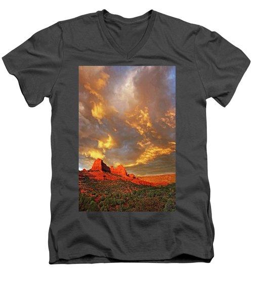 Into Eternity Men's V-Neck T-Shirt