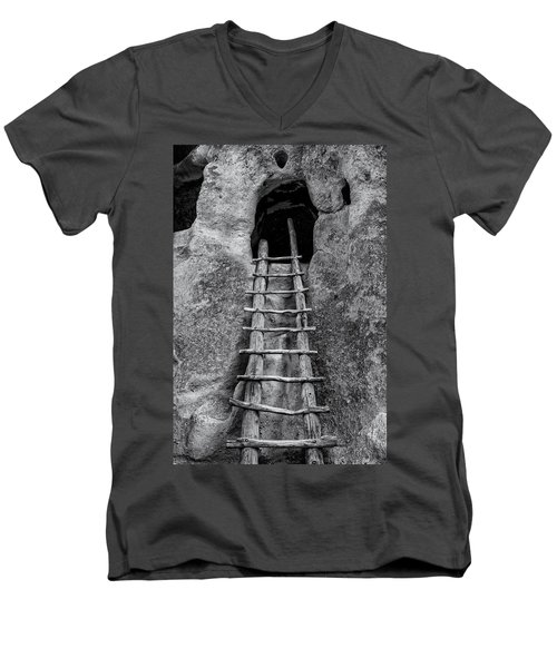 Into The Alcove Men's V-Neck T-Shirt by Gary Lengyel