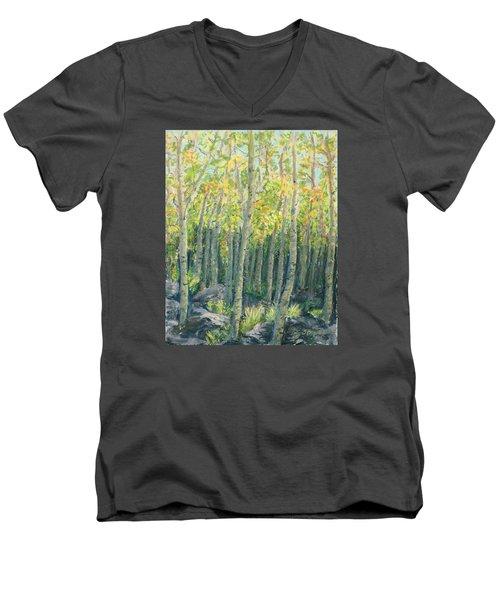 Into The Aspens Men's V-Neck T-Shirt