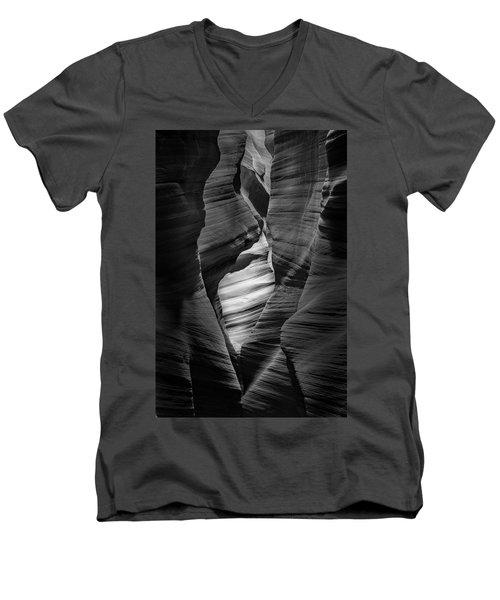 Into The Depths Men's V-Neck T-Shirt by Jon Glaser