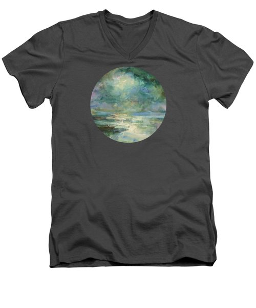 Into The Light Men's V-Neck T-Shirt by Mary Wolf