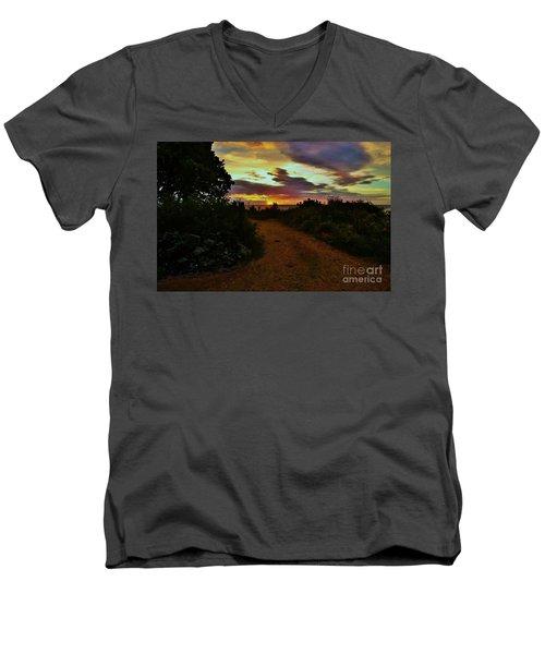 Into The Sunset Men's V-Neck T-Shirt