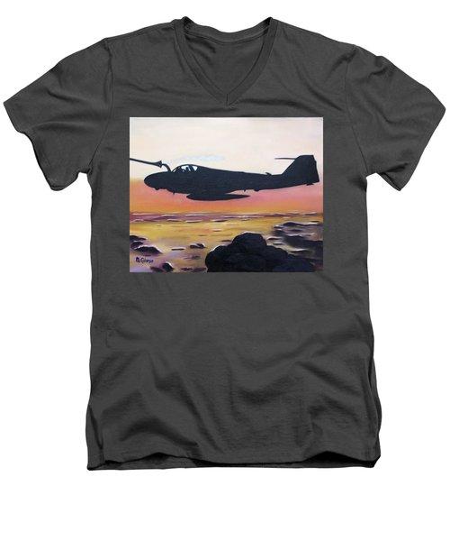 Intruder Refueling Men's V-Neck T-Shirt
