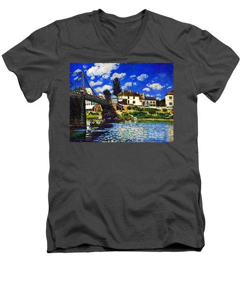 Inv Blend 14 Sisley Men's V-Neck T-Shirt
