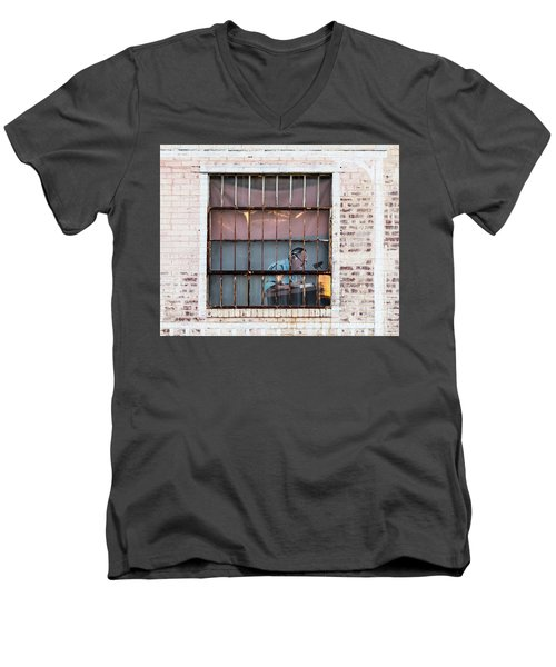 Inventory Time Men's V-Neck T-Shirt