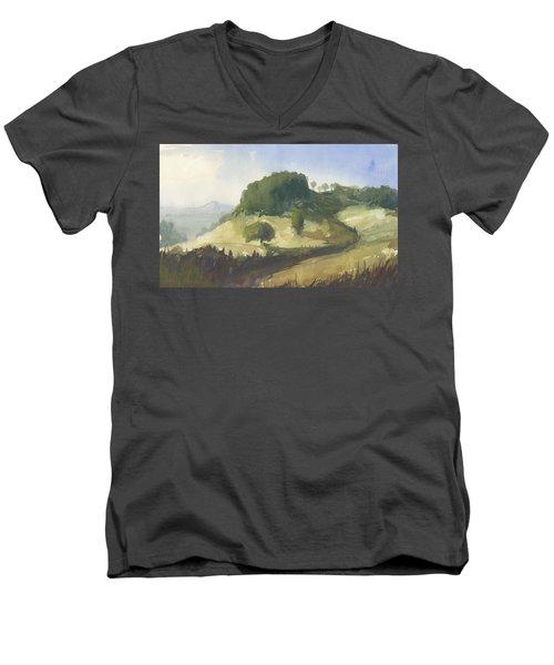 Inviting Path Men's V-Neck T-Shirt