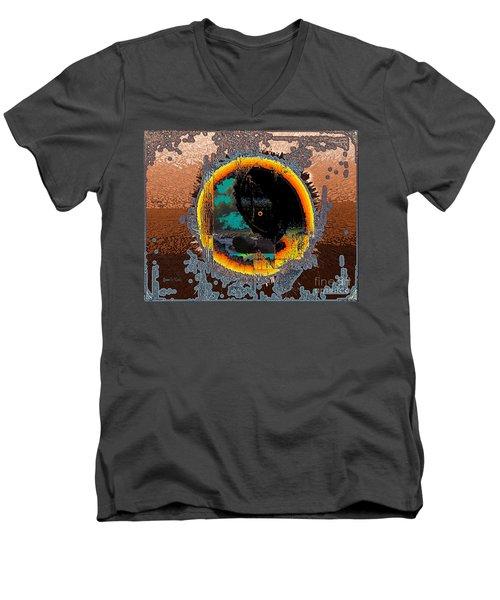 Inw_20a5566_morning-cliffs Men's V-Neck T-Shirt