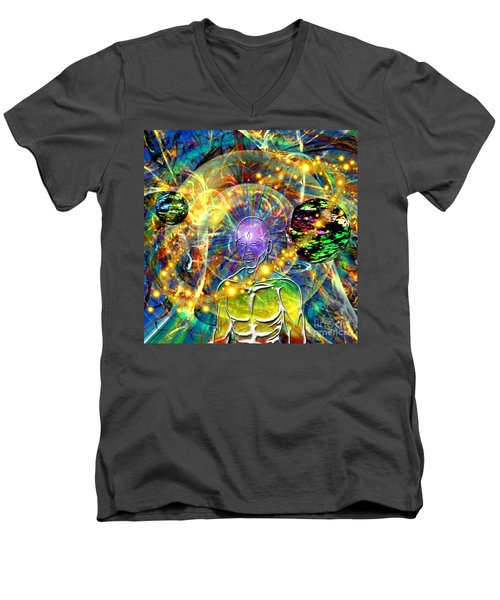 Inward Exploration Men's V-Neck T-Shirt