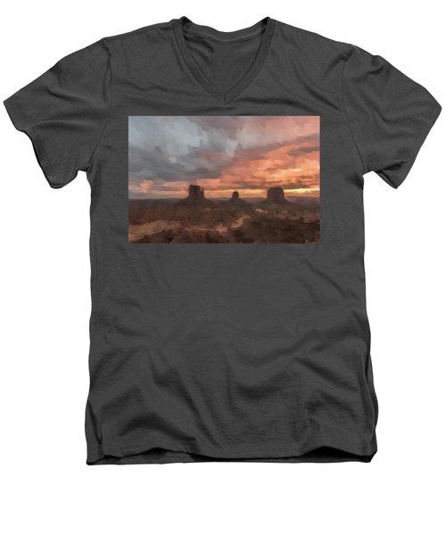 Io'u Men's V-Neck T-Shirt by Jon Glaser