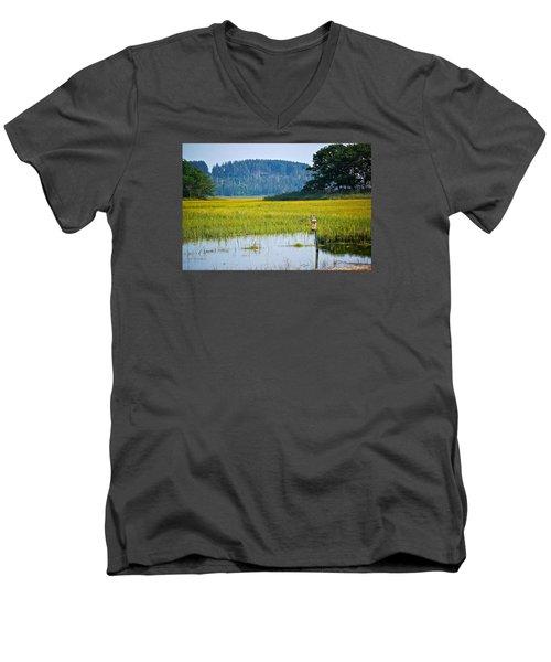 Ipswich Nature Preserve  Men's V-Neck T-Shirt