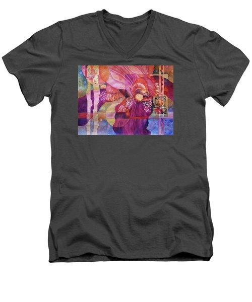 Iris Delight Men's V-Neck T-Shirt
