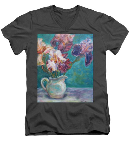 Iris Medley - Original Impressionist Painting Men's V-Neck T-Shirt