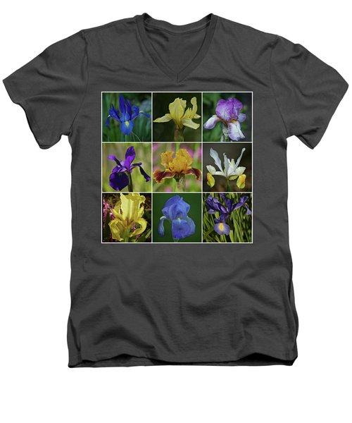 Iris Spring 2017 Collection Men's V-Neck T-Shirt by Richard Cummings