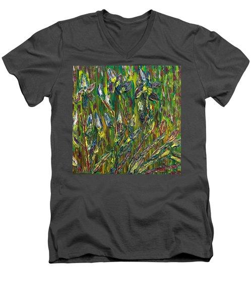 Irises Dance Men's V-Neck T-Shirt