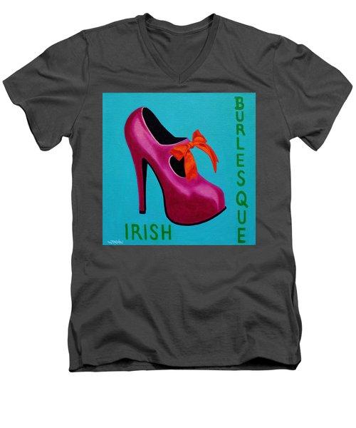 Irish Burlesque Shoe    Men's V-Neck T-Shirt