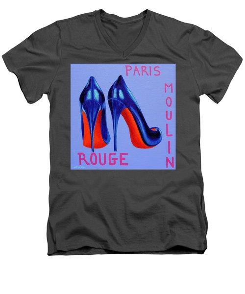 Irish Burlesque Shoes Men's V-Neck T-Shirt