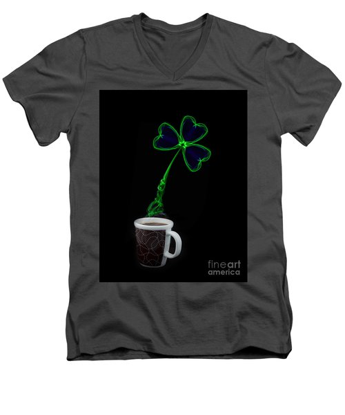 Irish Coffee Men's V-Neck T-Shirt