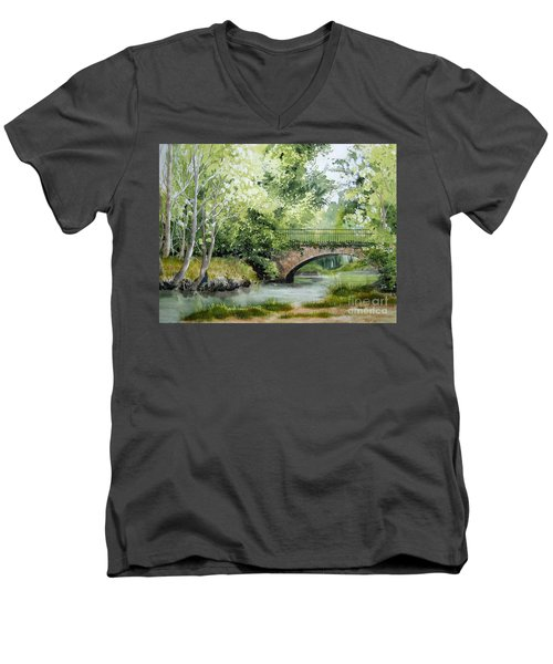 Irish Overpass Men's V-Neck T-Shirt