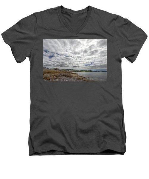 Irish Sky - Waterville, Ring Of Kerry Men's V-Neck T-Shirt