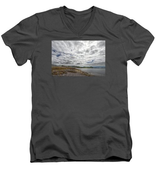 Irish Sky - Waterville, Ring Of Kerry Men's V-Neck T-Shirt