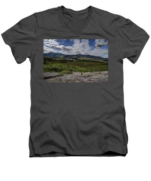 Irish Sky - Wicklow Mountains Men's V-Neck T-Shirt