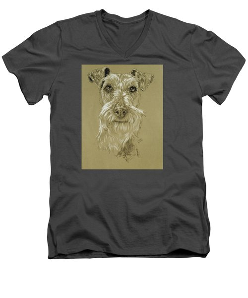 Irish Terrier Men's V-Neck T-Shirt