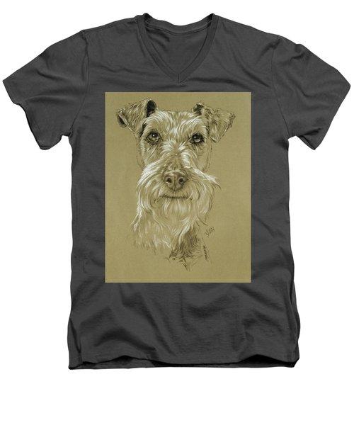 Irish Terrier Men's V-Neck T-Shirt