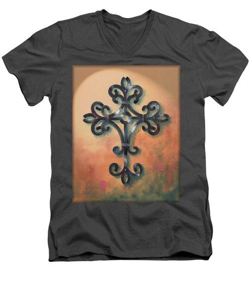 Iron Cross Men's V-Neck T-Shirt