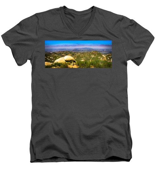 Iron Mountain View Men's V-Neck T-Shirt