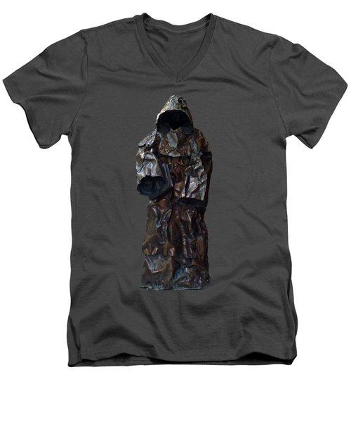 Iron Robe Art Men's V-Neck T-Shirt