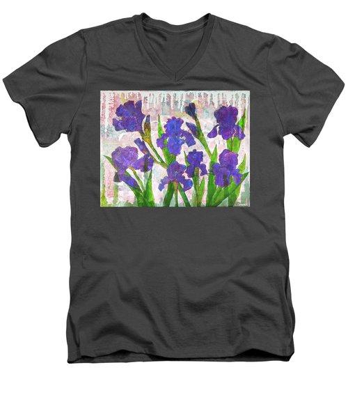 Irresistible Irises Men's V-Neck T-Shirt