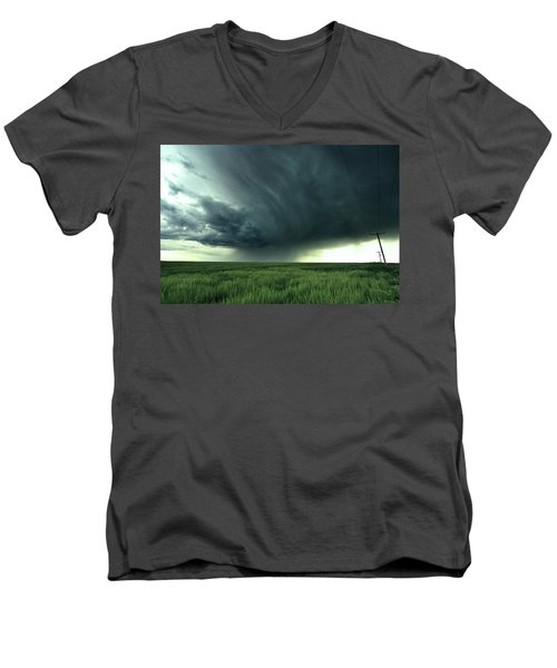 Irrigation Men's V-Neck T-Shirt