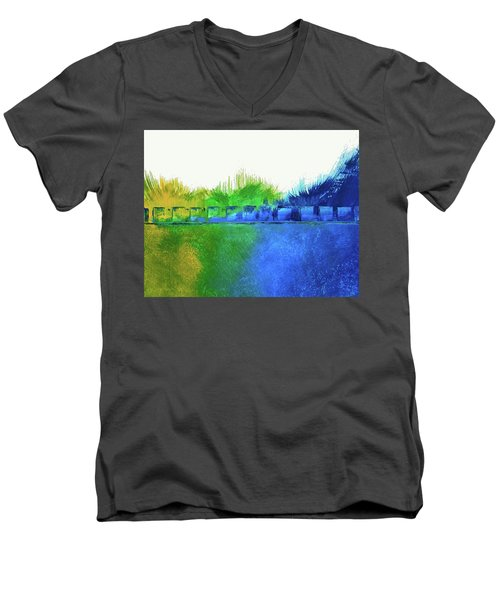 Is It Any Wonder Men's V-Neck T-Shirt by Everette McMahan jr