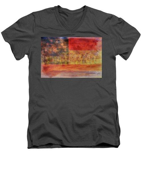 Is Mississippi Ready For This Day Gettysburg Men's V-Neck T-Shirt