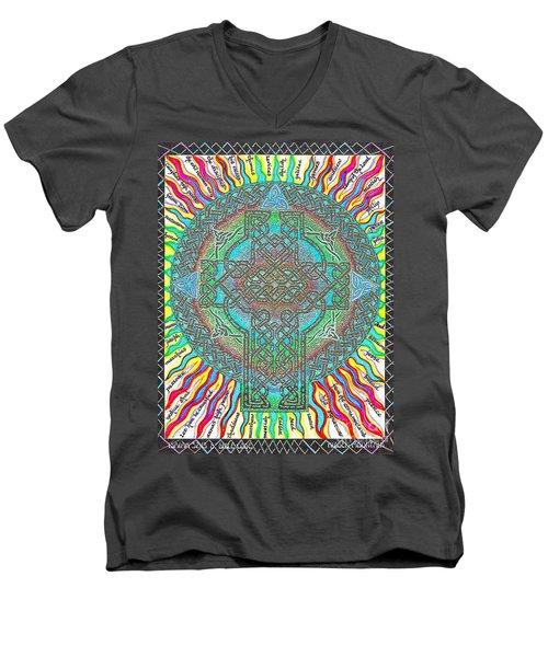 Isaiah Bible Code Men's V-Neck T-Shirt