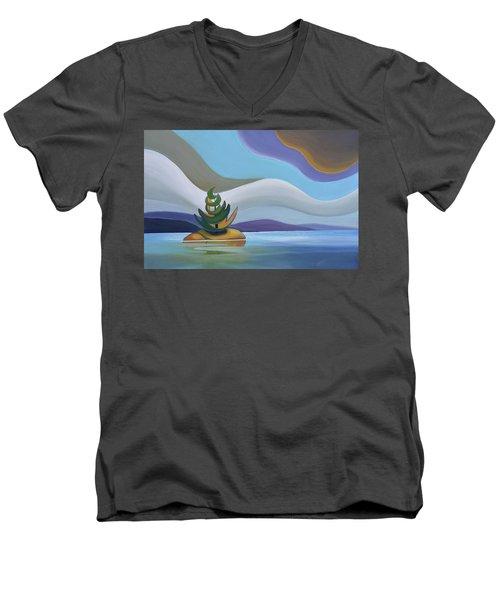 Island Men's V-Neck T-Shirt