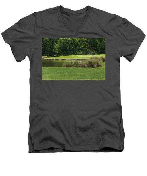 Island Green Men's V-Neck T-Shirt