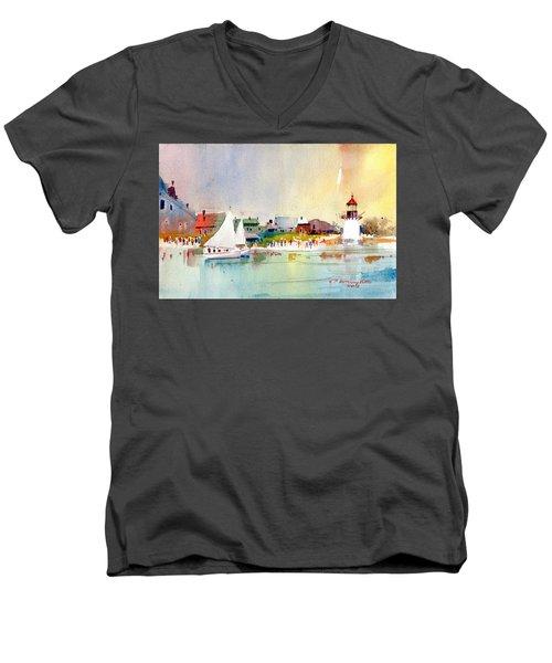 Island Light Men's V-Neck T-Shirt