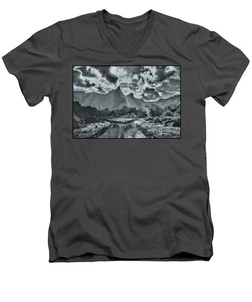 island Moorea Men's V-Neck T-Shirt