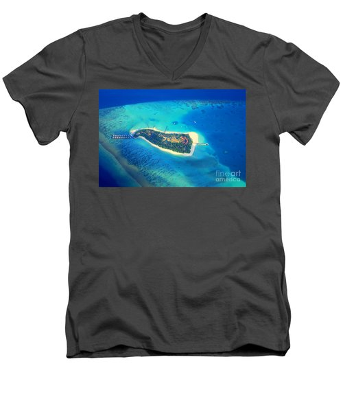 Island Of Dreams Men's V-Neck T-Shirt