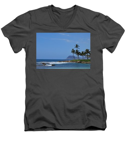 Island View Men's V-Neck T-Shirt