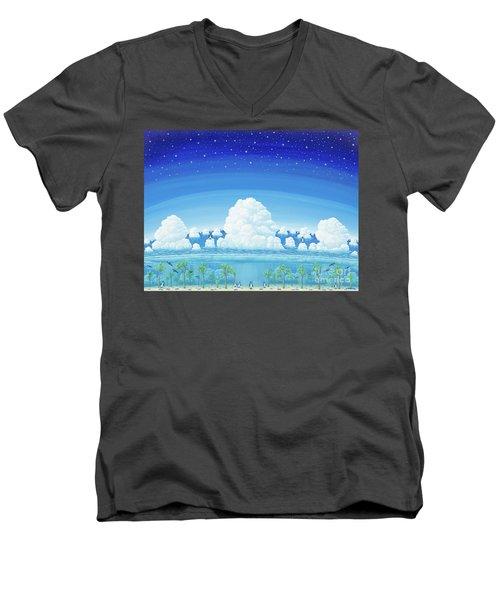 Islands Of Impermanence Men's V-Neck T-Shirt